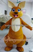 Nouvelle marque kangourou costume de mascotte pour Adultes de taille Fantaisie costume
