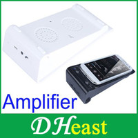 Wholesale Wireless Magic Speaker Audio Amplifier for iPhone Samsung Galaxy S4 Portable for home amp travel use