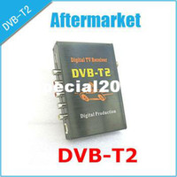 other other  Mobile Digital Car DVB-T2 H.264 MPEG4 HD Tuner 40km h Digital TV Receiver Box set top DVB-T2 Free shipping