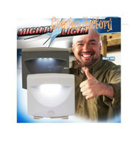 Wholesale Fedex Promotion NEW Indoor or outdoor Mighty Light White motion light sensor actiated