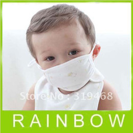 Wholesale Lowest Price FREE FEDEX RA Lovely Girls Ladies Boys Baby Kids Cotton AntiDust Respirator Mouth Mask Face Mask