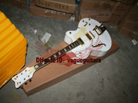 Wholesale White Classic Falcon Jazz Guitar with Bigbys OEM Available
