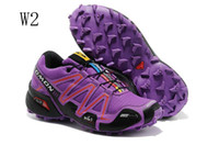 Wholesale Women s Zapatillas Salomon Speedcross Running Shoes Christmas Gift Athletic Shoes Size