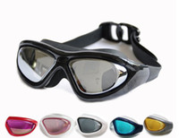 Wholesale Adult Water Sports Swimming Goggles anodized Prevent mist water ultraviolet ray diving Glasses Hot Sale