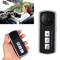 Wholesale Car Bluetooth Hands free Dual Standby Visor Multipoint Speakerphone For iPhone amp