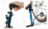 Wholesale 2013 New Arrival New Mini Portable Foldable Pro Bike Bicycle Tire Tyre Inflator Air Pump Skidproof amp