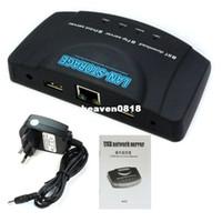 Wholesale 2013 New Arrival HotUSB Network Ftp Print UPnP Media Server for HDD Scanner Printer IP Camera USB Flash amp