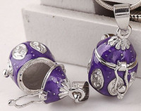 Wholesale Finding Enamel Purple Prayer Wish Craft Photo Frame Locket Box Fit Charms Necklace Pendant