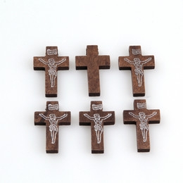 Children\\\'s Wooden Crosses g Mixed Wooden Sewing