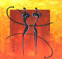 One Panel Oil Painting Abstract Modern Figure Abstract Nude Portrait Hand-painted Oil Painting Canvas Abstract 60cmx60cm wall art ABG039