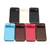 Wholesale Great Faux Leather Folio Hard Skin Cover Case Flip Pouch for Apple Iphone C