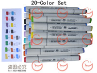 Wholesale Int l color Finecolour sketch marker set on a budget color chart stroked by actual marker a quarter price of Copic marker