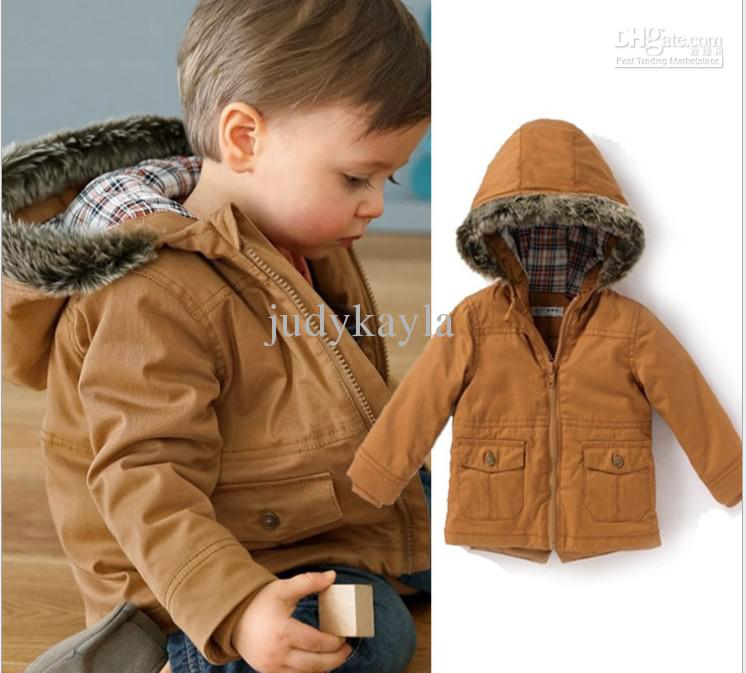 Childrens Brown Coats