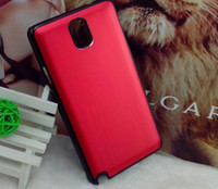 Metal For Samsung For Christmas Christmas Gift Metal coloful case Shockproof Dirtproof Cover Case for Samsung Galaxy Note 3 Note3 N9000 N9005 Factory Sale Directly