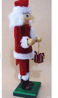 5-7 Years nutcrackers - new Christmas ornament series of Nutcracker Puppet Santa Claus Doll Cake shops candy stores home christmas decoration supplies