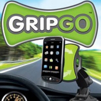 Wholesale 200pcs GripGo grip go Windshield Universal Car mobile phone GPS Mount holder Degree rotating