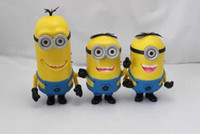 Wholesale Minions Speaker Portable DESPICABLE ME Mini Speaker MP3 Player Amplifier Micro SD TF Card USB Disk Computer Minions Speaker