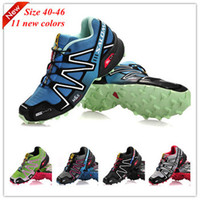 Wholesale 2013 NEW Salomon Speedcross Running Shoes Men s France Walking Ourdoor Shoes Climashield Sport CS XT D wings ultra