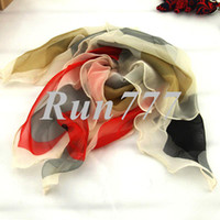 Wholesale female spring autumn chiffon all match sun cape dual small facecloth square silk scarf SC0161