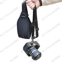 Wholesale New High Quality Quick Pro Single Shoulder Ergo Strap for DLSR SLR Camera Black MYY6463