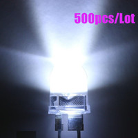 Wholesale 500pcs mm W White Round LED Leds Kmcd Light