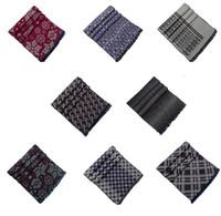 Wholesale 8 Fashion New arrivals Men Men s Silk velour Brushed cotton Scarf scarves Shawl Neckerchief For spring autumn winter