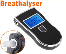 Wholesale Prefessional digital LCD display Police Digital Breath Alcohol Tester Breathalyzer