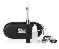 Electronic Cigarette Set Series  eGo CE4 Single Starter Kit Electronic Cigarette With Zipper Case CE4 Atomizer eGo-T Battery 650mah 900mah 1100mah Charging Cable Multi Color