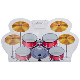 Wholesale Roll Up Electronic USB Drum Kit Flexible Portable Digital Silicone Drum Kit Percussion Drum Set