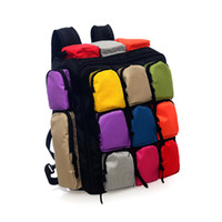 Wholesale 9 Bags Rucksack Packsack Travel Backpack
