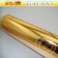 Wholesale cmx30cm Chrome Mirror Film With Air Free Channel Have Color can Choose Silver Color and Gold Color