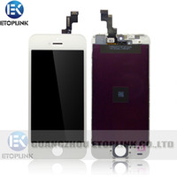 Wholesale For iPhone S LCD assembly glass iphone5S lcd digitizer display Screen with Touch Digitizer replacement