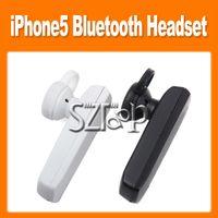 Universal Bluetooth Headset  Original mini Apple dual-channel binaural Bluetooth headset to listen to music stereo IPhone5 via DHL86021100430