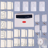 Wholesale 433 MHz Wireless Home Security Burglar Alarm System Auto Dialer Password Backup