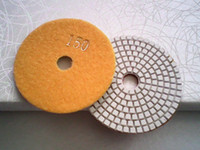 stone polishing pads - 4 inch diamond polishing pads for marble and granite Excellent quality wet polishing pads Resin grinding for stone