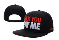 Cheap cheap!2013 new FUCK YOU PAY ME baseball snapback hats for men and women hip pop sports caps fashion hat wholesale top quality