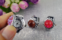 Wholesale Hot Sale Mix Colors Shaps Colorful Ring Watches Watches Turquoise Ring With Watches