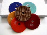 Wholesale 4 quot D100mm Diamond wet polishing pads granite polishing pads stone polishing pads