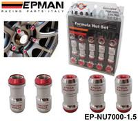 al por mayor ruedas volk-M12 X1.5 EPMAN AUTÉNTICO ACORN RIM Racing Lug Nuts ruedas Tornillo 20PCS coche para Toyota PARA VOLK RAYOS STEY ROJO EP-NU7000-1.5