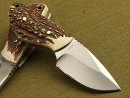 Wholesale New Best Mini Boker hunting survival pocket folding knives knife suit for outdoor sports Sharpener for free