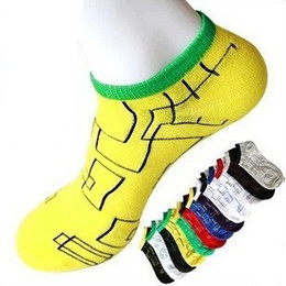 Wholesale Men s boat labyrinth maze SOCK HOSIERY Cotton home floor fashion socks Invisible style Lover charm socks hosiery ventilated lovely socks