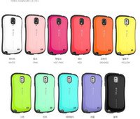 Silicone For Samsung Colorful Colorful vivid hybrid shock proof iface Iface case cover skin shell for Galaxy Note 3 N9000 N9006 back with packing