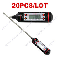 Wholesale 20PCS Digital Cooking Food Probe Meat Thermometers Kitchen BBQ