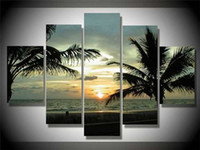 More Panel Oil Painting Fashion Modern Seascape Oil Painting 100% Handmade Canvas Wall Art Beautiful Seashore View Nice Artwork High Quality Cheap Price for House Deco