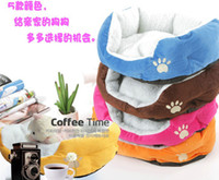 Wholesale Comfortable Unique Warm Indoor Soft Pet Dog Cat Puppy Sofa House Bed with Mat Cushion
