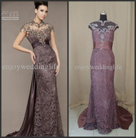 Wholesale 2012 Sexy Sweetheart Lace Stunning Beading Cap Sleeves Backless Mermaid Evening Dresses D To get one bracelet free