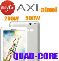 Wholesale Ainol Novo7 Numy AX1 Built in G inch Quad Core Android Phone Call Tablet PC MTK8389 Bluetooth GPS GB MP