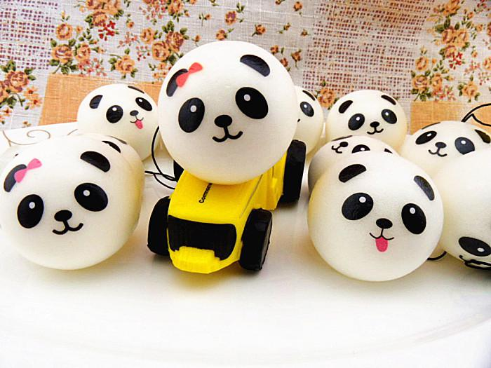 2017 10cm Kawaii Large Panda Squishies Jumbo Squishy Bread/Artificial Food Accessories Squishy ...