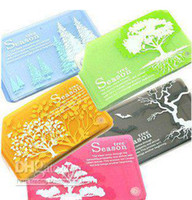 PP bank list - Freeshipping cartoon tree Antimagnetic Bank Credit Card Set amp Bank Card List For Business GiftsWholes