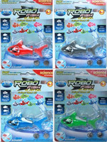 Wholesale Robo Fish Shark Water Activated Magical Turbot Fish Electronic Pet Fish Magic Swimming Fish Toys Kids Christmas Gift Top Quallity